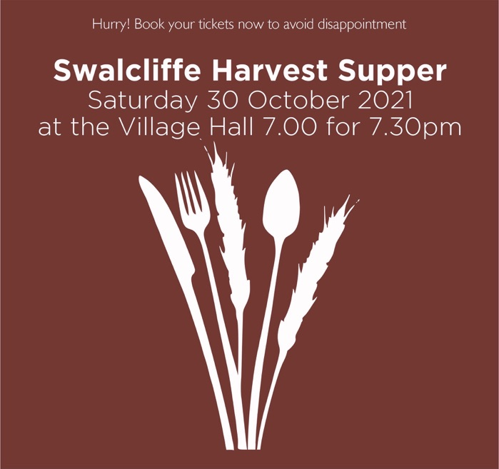 Harvest Supper in Swalcliffe